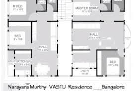 plan north facing per vastu home design