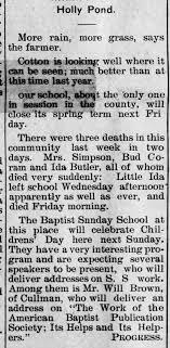 Three deaths last week:Mrs. Simpson, Bud Gorham, Ida Butler - Newspapers.com