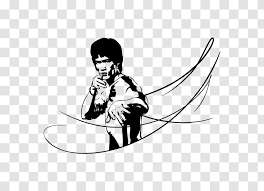 Sticker Decal Kung Fu Long Beach International Karate Championships Cartoon Bruce Lee Transparent Png