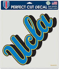 Amazon Com Ucla 8x8 Color Die Cut Window Cling Sports Fan Decals Sports Outdoors