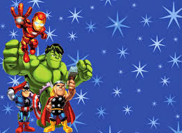 The Avengers Free Printable Invitations Or Cards Invitaciones