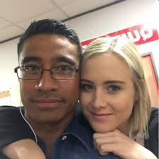 Pua Magasiva - My beautiful onscreen wife @sallyemartin so... | Facebook