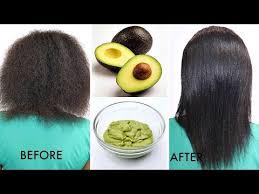 avocado hair mask grow long healthy