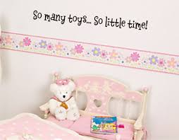 So Many Toys So Little Time Wall Decal Toy Room Sticker 7 95 Arise Decals