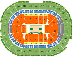 boston celtics seating chart td garden