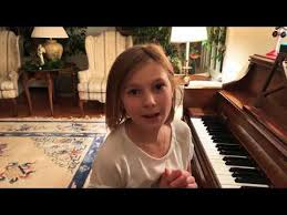 Silent Night - Piano Version l First Video l Addie Wilson - YouTube