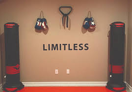 Limitless Wall Decal Classroom Sign Gym Sign Gym Design Ideas Weight Room Sign Weight Room Design Ideas