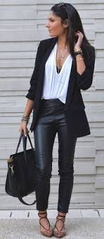 48 best leather pants outfit images