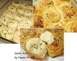 garlic rolls fauzia s kitchen fun