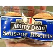 jimmy dean sausage biscuits calories