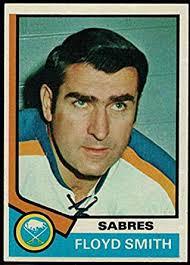 Amazon.com: Hockey NHL 1974-75 Topps #176 Floyd Smith CO Sabres ...