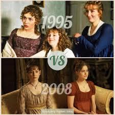 Sense and Sensibility Adaptations: 1995 VS 2008