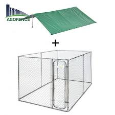 Galvanized Chain Link Big Dog Cage View Big Dog Cage A S O Product Details From Anping County A S O Metal Wire Mesh Products Co Ltd On Alibaba Com