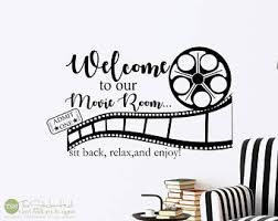 Movie Wall Decals Etsy