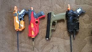 homemade guns seized by wagga police at