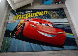 Disney Cars Racetrack Kids Room Rug 52 In X 69 In Micasa Shop