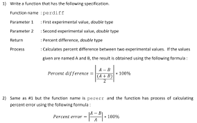 solved 1 write a function that has