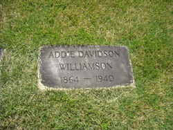 Addie Davidson Williamson (1864-1940) - Find A Grave Memorial