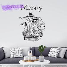 Merry One Piece Wall Decal Vinyl Wall Stickers Decal Decor Home Decorative Decoration Anime One Piece Car Sticker Decorative Home Decor Home Decorvinyl Decal Aliexpress