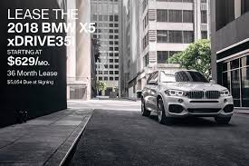 new 2018 bmw x5 lease offer