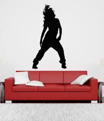 Wall Art Vinyl Sticker Room Decal Mural Decor Girl Dancing Hip Hop Dance Bo2352 Ebay