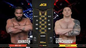 ACA 96: Tony Johnson Jr. vs Evgeniy Goncharov - YouTube