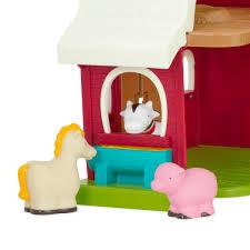 barn toy farm set for