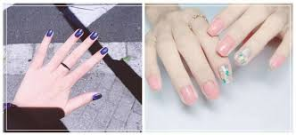 these natural and unique nails make