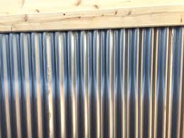 Build An Instant Rusted Corrugated Metal Fence Home Garden And Homestead