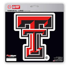 Texas Tech Large Decal Fanmats Sports Licensing Solutions Llc