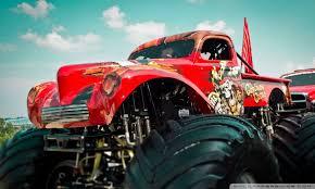 monster truck ultra hd desktop