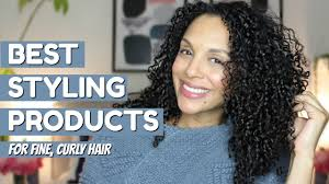 styling s for fine curly hair