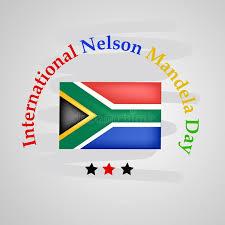 International Nelson Mandela Day Editorial Stock Photo - Illustration of  flag, fight: 121199153