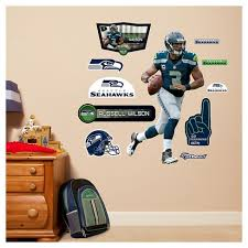 Nfl Seattle Seahawks Fathead Decorative Wall Art Set 40 X3 X3 Target