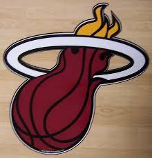 Miami Heat Logo Basketball Nba Fan Vinyl Sticker Decal Car Wall Window Bumper