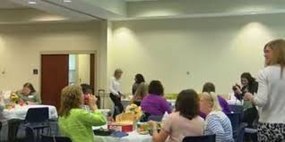 Women gather in Columbus for domestic violence lunch and learn