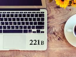 Sherlock Holmes Decal 221b Decal For Laptop Car Macbook Etsy