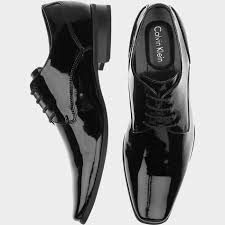 calvin klein bro black tuxedo shoes