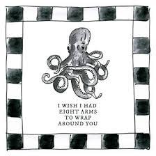 Kaarten Blond X Noir Beterschap Octopus Greetz