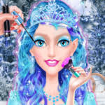 ice princess make up dress up game