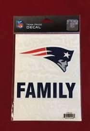 New England Patriots Family Team Pride Logo Decal Truck Car Window Cling New Ebay
