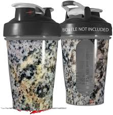 Amazon Com Decal Style Skin Wrap Works With Blender Bottle 20oz Marble Granite 01 Speckled Bottle Not Included Kitchen Dining