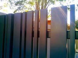 Vertical Slats Different Sizes Fancy Fence Fence Design Fence Panels