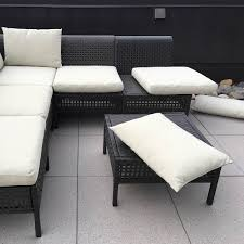 add ties to outdoor ikea patio cushions