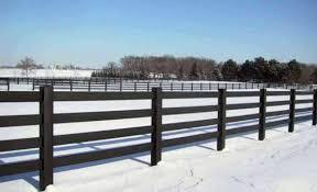Tuff Stuff 4 Rail Horse Fence Avinylfence Com