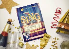 Sing Ven Y Canta Tarjeta De Invitacion Gratis Free Invitation