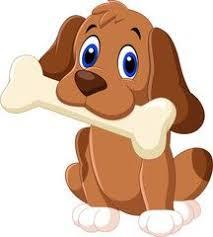 Cartoon funny dog with bone | Cute animal illustration, Puppy cartoon,  Cartoon dog