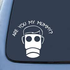 Empty Child Dw Whovian Sticker Decal Notebook Car Laptop