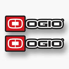 2x Ogio Vinyl Decal Sticker Sponsor Backpack Mtb Mountain Biking Bag Ebay