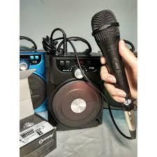 1G[P2004] Mic karaoke Arirang có dây gắn loa kéo, loa bluetooth, amply, âm  thanh tốt PD27, giá chỉ 172,839đ! Mua ngay kẻo hết!
